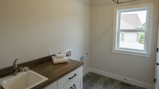 Laundry Room of the Arianna in Saddle Creek by Design Homes