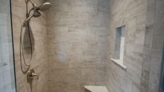 Master Bath of the Arianna in Saddle Creek by Design Homes