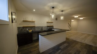 Wet Bar of the Arianna in Saddle Creek by Design Homes