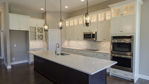 A custom build by Design Homes and Development, in The Trails of Saddle Creek.