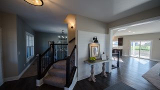 Custom Entry in Savannah Farms by Design Homes