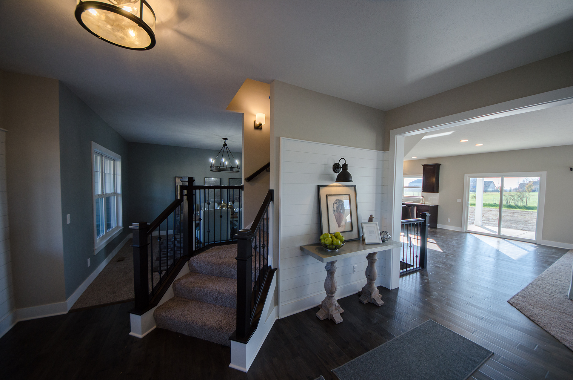 Amazing Custom Entry In Savannah Farms By Design Homes