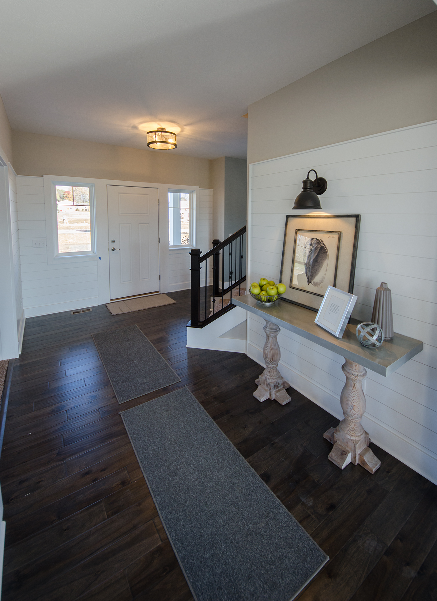 Custom Interior Of The Lexington. A New, Market Ready Home By Design Homes.