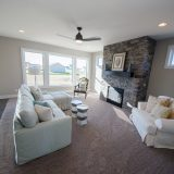 Custom interior of The Lexington by Design Homes and Development.