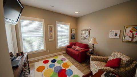 Bonus Room in a custom home by Design Homes