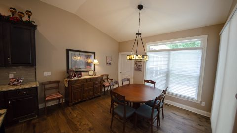 Dining Room in a custom home by Design Homes
