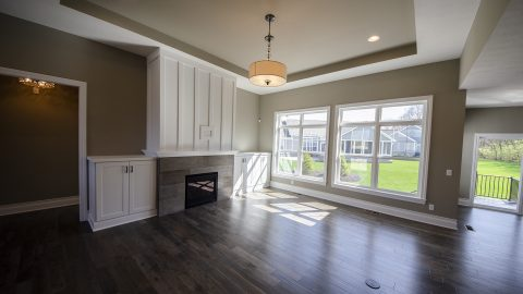 Great Room in Soraya Farms by Design Homes