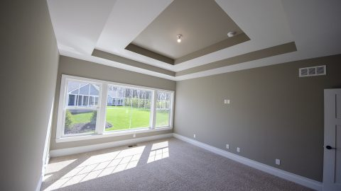 Custom Master Bedroom in Soraya Farms by Design Homes