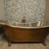 Custom Master Bath in Soraya Farms by Design Homes