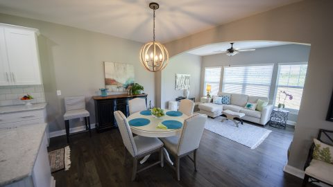 Dining Room in Soraya Farms by Design Homes
