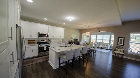 Kitchen in Soraya Farms by Design Homes