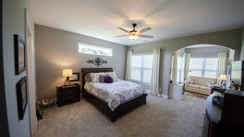 Master Bedroom in Soraya Farms by Design Homes