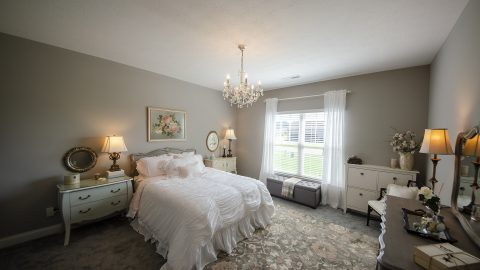 Bedroom in Soraya Farms by Design Homes