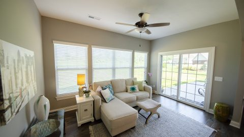 Sunroom in Soraya Farms by Design Homes