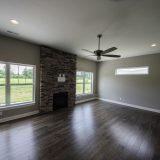 Custom Great Room in Soraya Farms by Design Homes