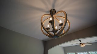 Custom Lighting in Soraya Farms by Design Homes