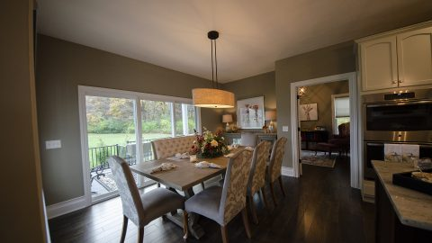 Custom Dining in Soraya Farms by Design Homes