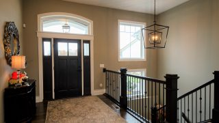 Custom Entry in Soraya Farms by Design Homes
