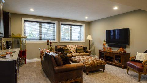 Custom Rec Room in Soraya Farms by Design Homes