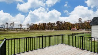 Backyard of the Brooklyn in Soraya Farms by Design Homes
