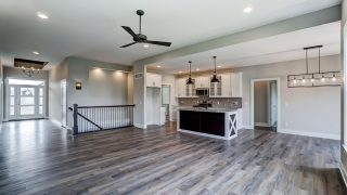 Living Area of the Brooklyn in Soraya Farms by Design Homes