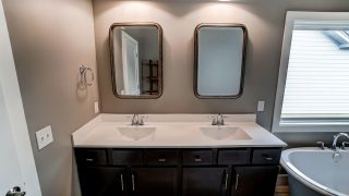 Master Bath of the Brooklyn in Soraya Farms by Design Homes