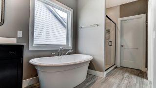 Master Bath of the Brooklyn in Soraya Farms by Design Homes