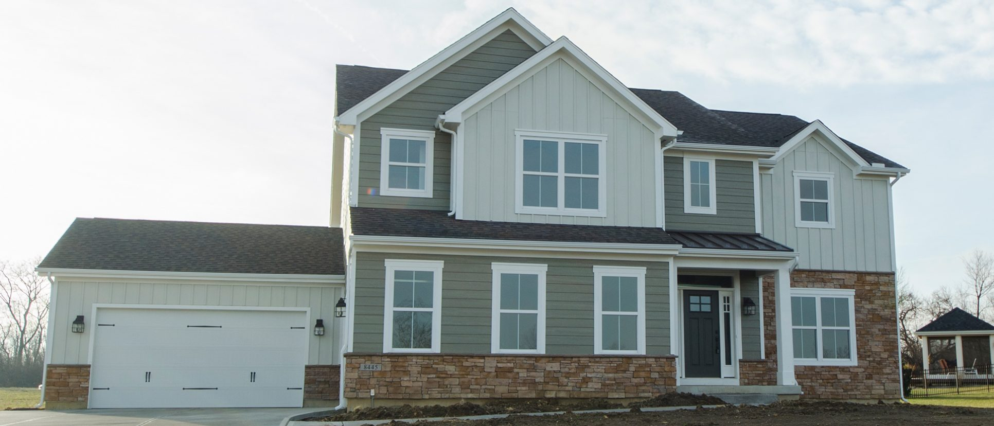 The Amber, a custom, move-in ready home by Design Homes and Development.