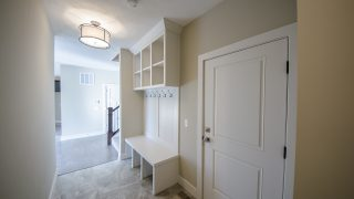 Custom Mud Hall in the Amber plan by Design Homes