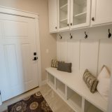 Custom Mud Hall in the Arianna plan by Design Homes