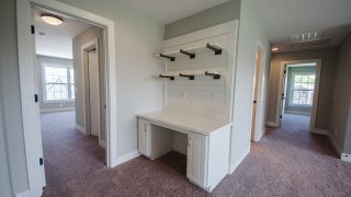 Custom Nook of the Game Room in the Charleston plan by Design Homes