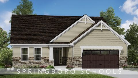 Custom rendering of the Jocelyn II. A new, market ready home by Design Homes.