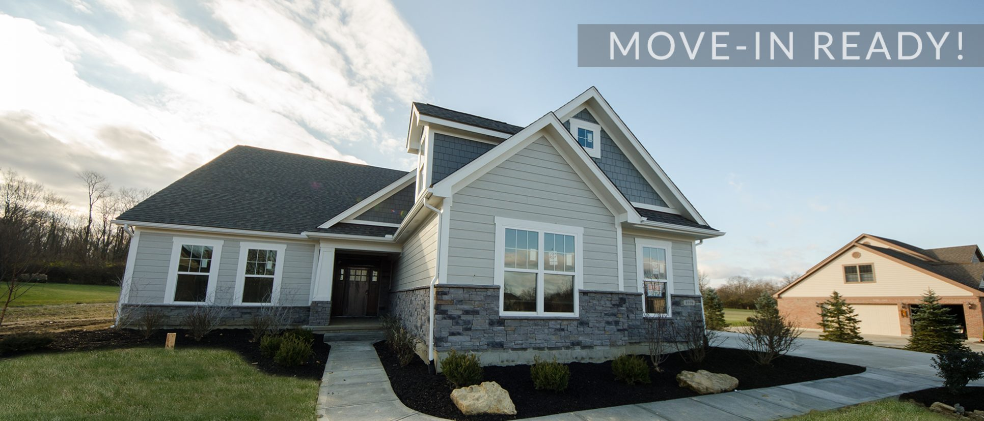 The Jocelyn, a custom move-in ready home by Design Homes and Development.