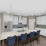 Rendering of the Logan. A brand new, custom home by Design Homes and Development.