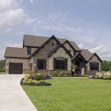 Custom exterior of The Madelynn. A custom home by Design Homes and Development.
