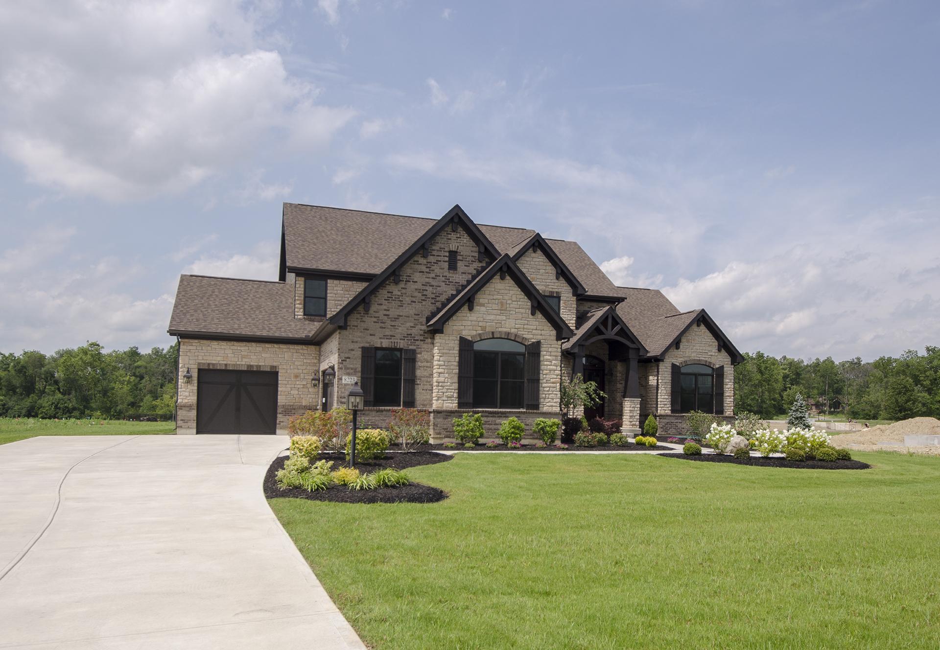 Custom design home for Custom home exterior design