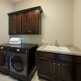 Custom Laundry Room in the Madelynn plan by Design Homes