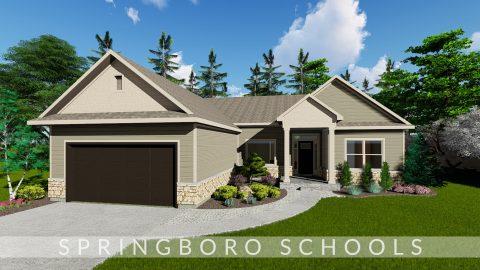Custom rendering of the Oakwood in Soraya Farms. By Design Homes & Development.