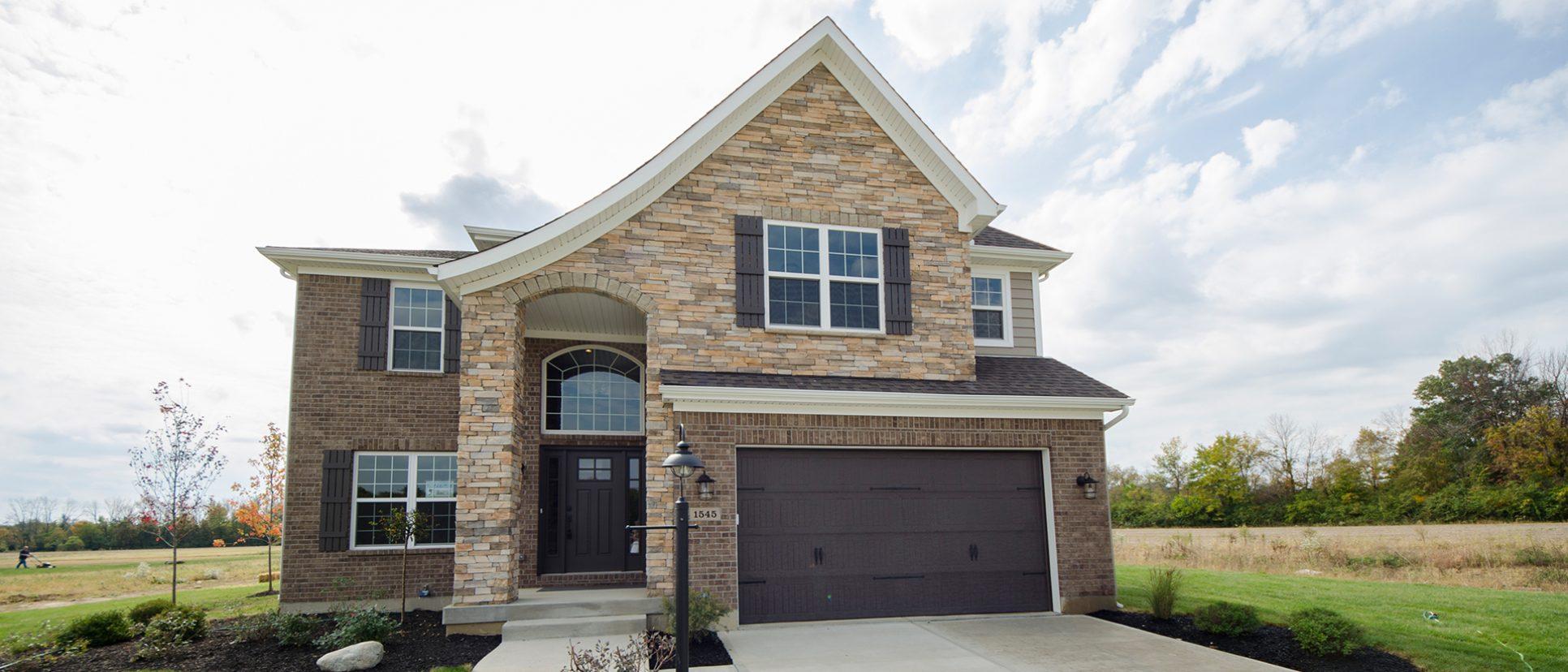 The Sarah custom exterior by Design Homes.