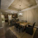 The Sheffield's dining room. A custom condo by Design Homes & Development.