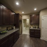 The Sheffield's kitchen. A custom condo by Design Homes & Development.