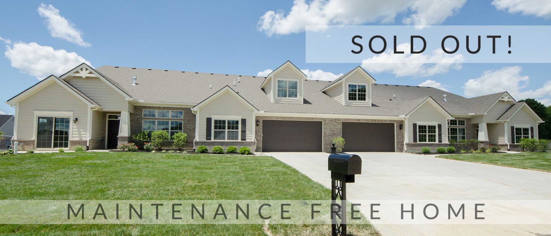 The sold out Sheffield condos in Soraya Farms. Custom built by Design Homes.