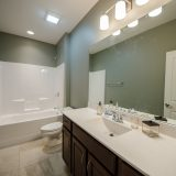 Custom interior of The Sheffield by Design Homes and Development.