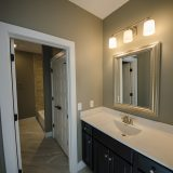 Custom bathroom in The Shiloh by Design Homes & Development.