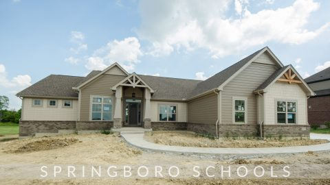 The Shiloh. A custom, move-in ready home by Design Homes and Development.