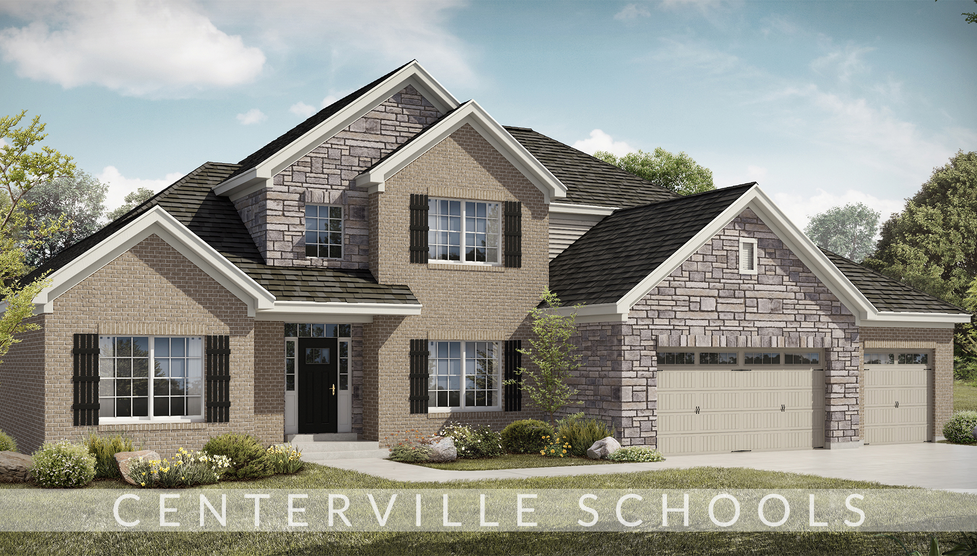 Bridle creek ranch the triple crown lot 8 design homes for Ranch home builders ohio
