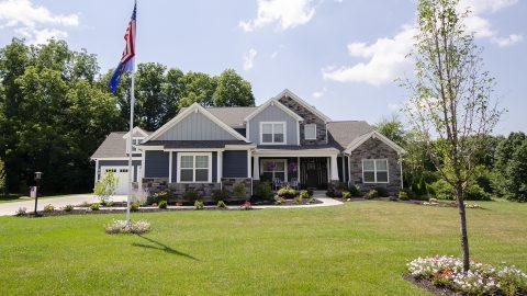 Custom Home in Winding Creek by Design Homes