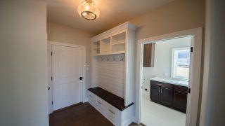 Custom Mud Hall in Cypress Ridge by Design Homes