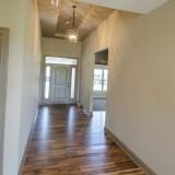 Custom foyer by Design Homes.