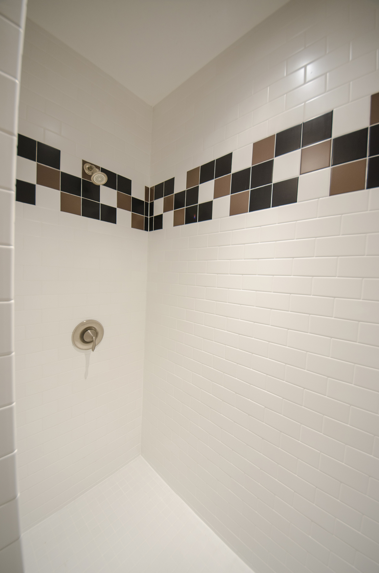 A Custom Shower By Design Homes